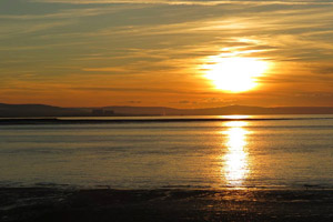 Sunset - Burnham on sea